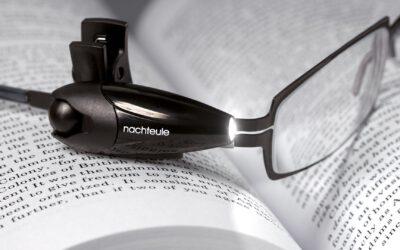 Nachteule Leselampe zum entspannten Lesen