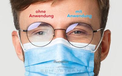 """Reinigungs- und Brillenputztuch """"No Fog Cloth"""""""