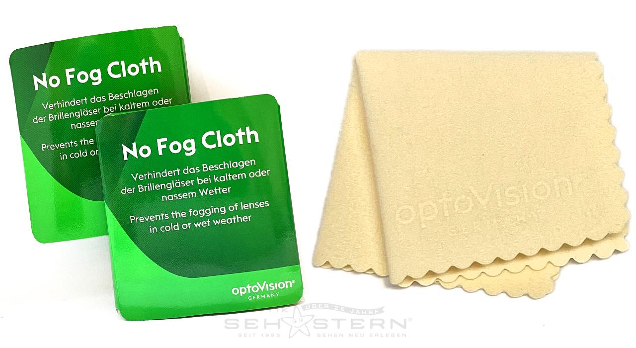 """Reinigungs- und Brillenputztuch """"No Fog Cloth"""" Pack"""