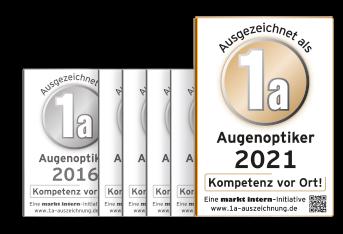 1A-Optiker 2021 Optik Sehstern